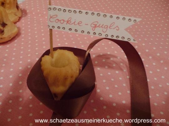 Cookie-Guglhupf Nahaufnahme