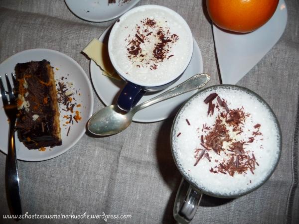 Schoko-Milch & Orangen-Baumkuchen