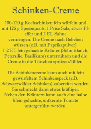 Rezept Schinken-Creme