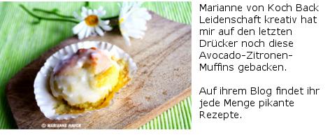 Avocado-Zitronen-Muffins