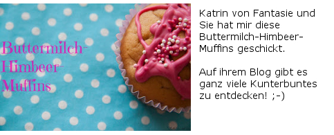 Buttermilch-Himbeer-Muffins