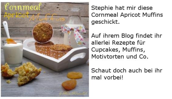 cornmeal apricot muffins
