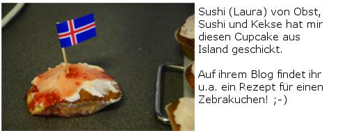 Erdbeer-Cupcakes Obst, Sushi und Kekse