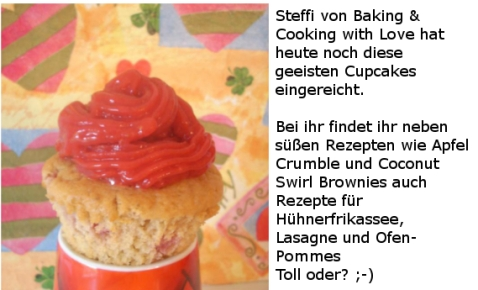 Geeiste Cupcakes