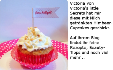 Himbeer-Cupcakes Vitorias little secrets