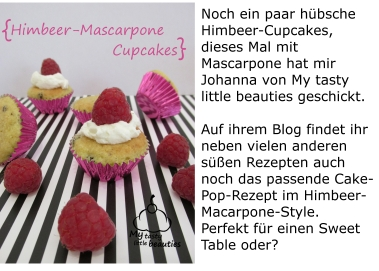 Himbeer-Mascarpone-Cupcakes