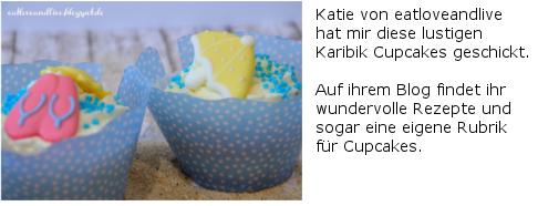 Karibik Cupcakes Eatloveandlive