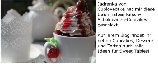 Kirsch-Schokoladen-Cupcakes