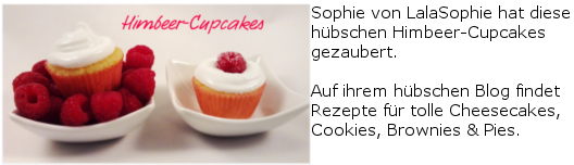 Lala Sophie Himbeer-Cupcakes