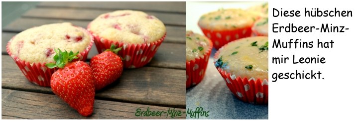 Erdbeer-Minz-Muffins Leonie
