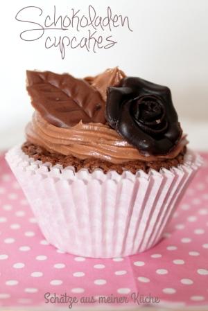 Schokoladen-Cupcakes