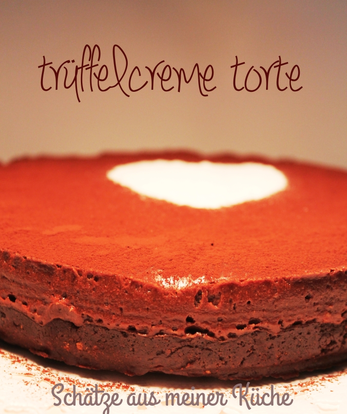 Trüffelcreme Torte