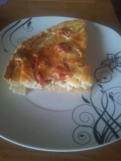 Spargel-Tomaten-Quiche