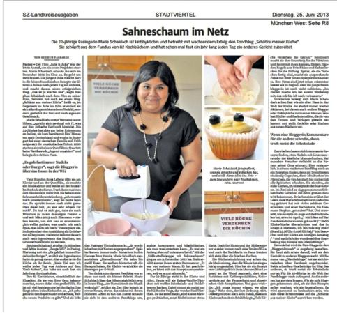 Schätze aus meiner Küche in der Süddeutschen Zeitung - Schätze aus ...