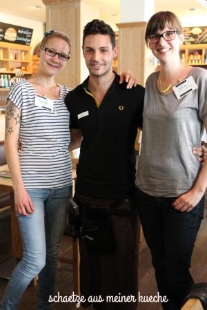 Georg mit Ramona und Julia