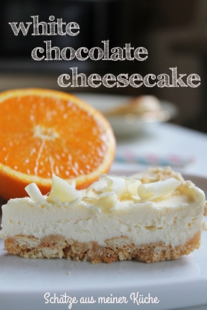 White Chocolate Cheesecae