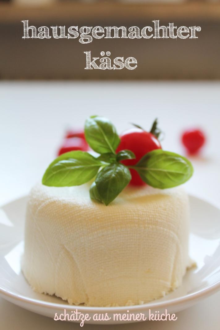Käse hausgemacht