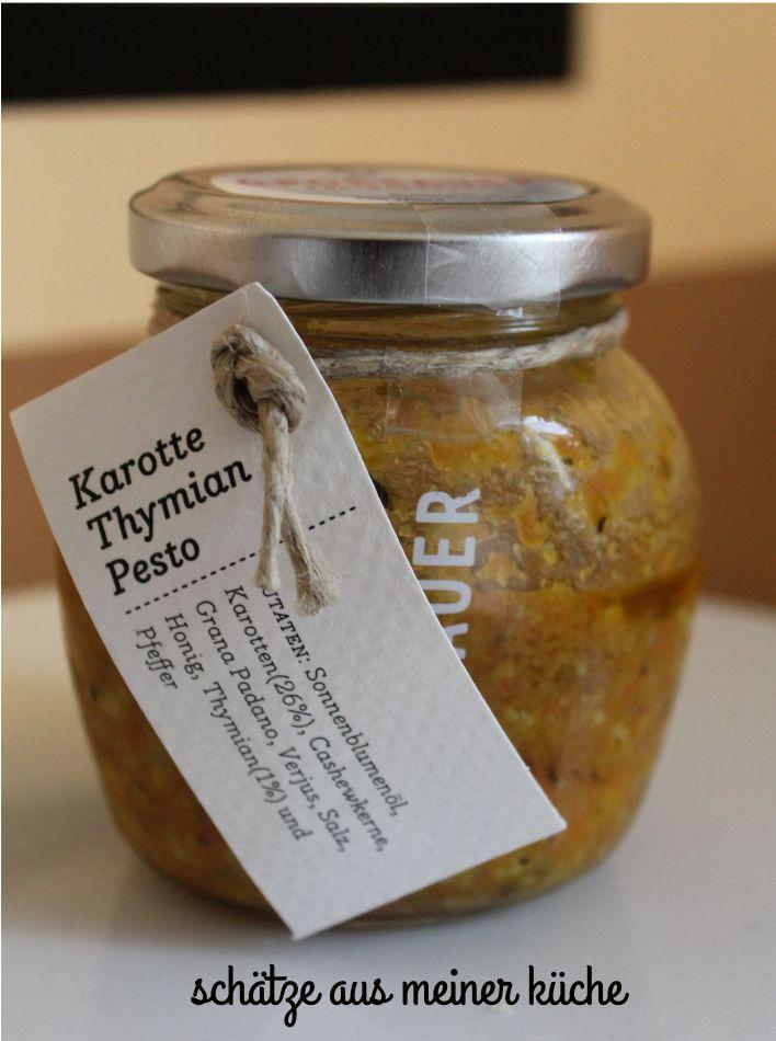 Karotten-Thymian-Pesto