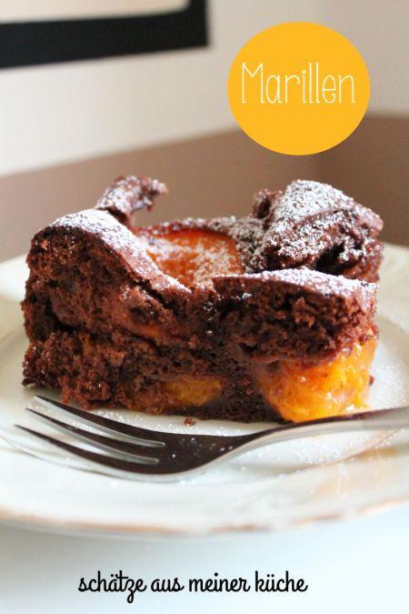 Schoko-Marillenkuchen