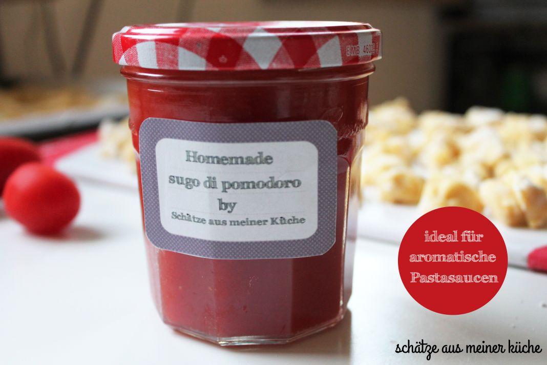 Sugo di pomodoro - Tomatenmark - die Einkoch-Bibel