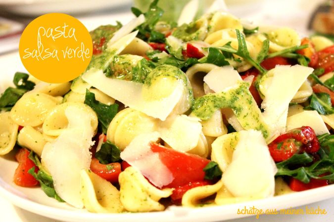 Orechiette mit Salsa Verde