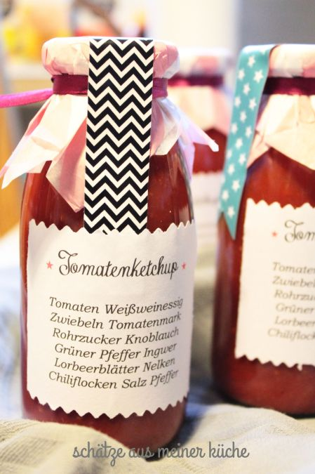 Tomatenketchup selbstgemacht