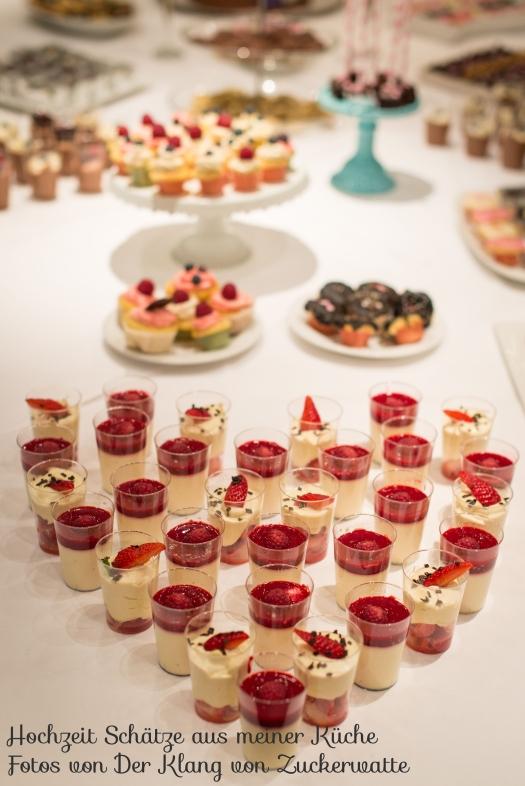 Sweet Table Hochzeit Schätze aus meiner Küche