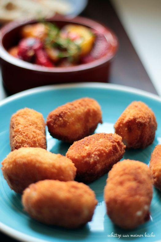 Croquetas de Jamón Schinken-Kroketten Jamie Oliver