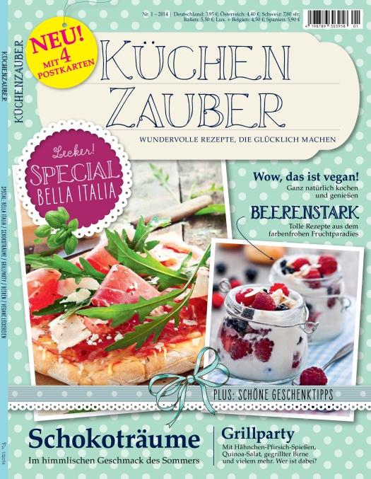Küchenzauber Foodmagazin Panini Verlag