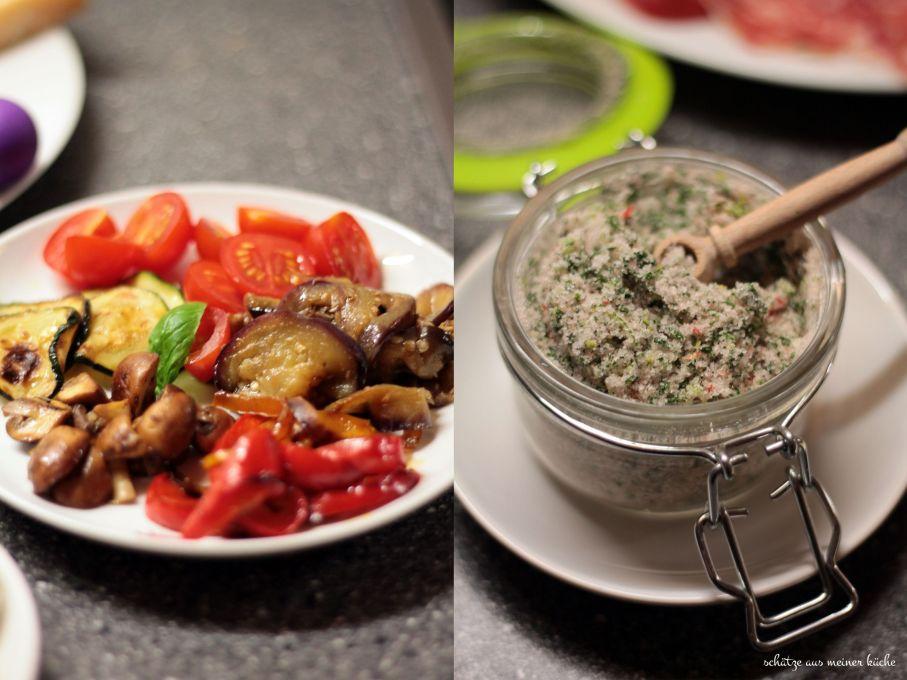 Antipasti Kräuter-Sommer-Salz Rewe Feine Welt Gemüse