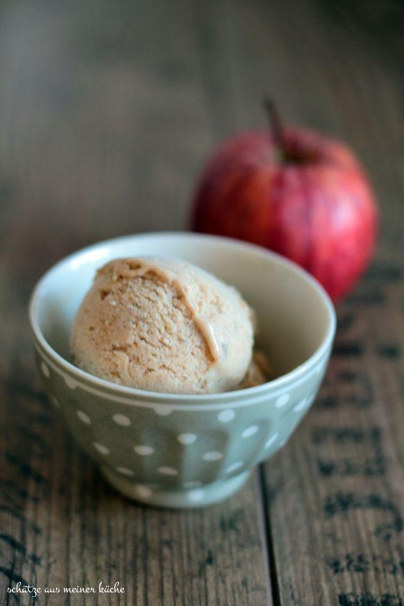 Apfel-Zimt-Eis